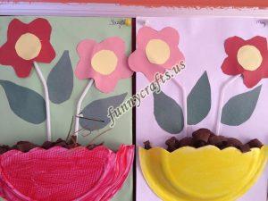 paper plate flower craft ideas (1)