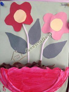 paper plate flower craft ideas (3)