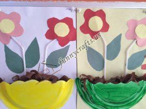 paper plate flower craft ideas (4)