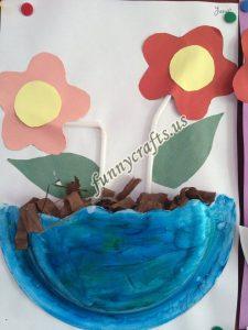 paper plate flower craft ideas (5)