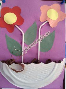 paper plate flower craft ideas (6)