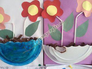 paper plate flower craft ideas (7)