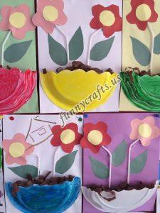 paper plate flower craft ideas (8)