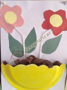 paper plate flower craft ideas (9)