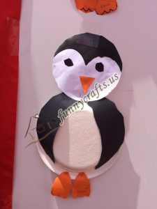 paper plate penguin craft for kids (4)