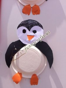 paper plate penguin craft for kids (5)