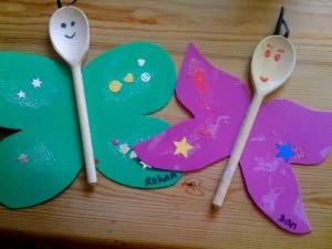 plastic spoon crafts