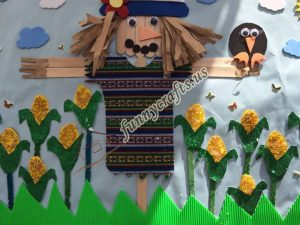 pop sticks scarecrow craft (4)