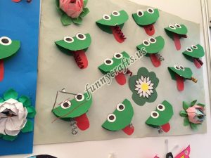preschool frog themed crafts (2)
