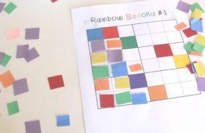 rainbow sudoku for kids (3)