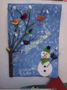 snowman bulletin board ideas (2)