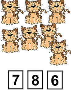tiger clothespin card