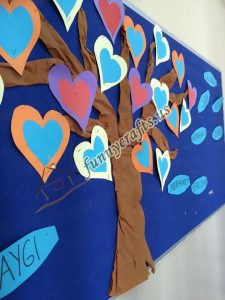 tissue paper tree project (7)