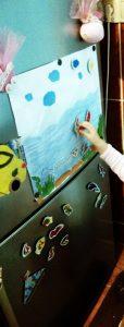 toddlers aquarium  homemade