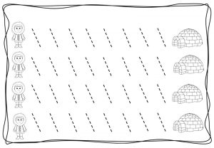 tracing diagonal lines free sheet (11)