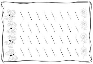 tracing diagonal lines free sheet (5)