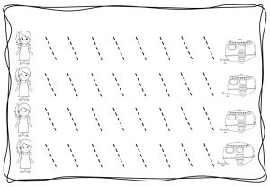 tracing diagonal lines free sheet (8)