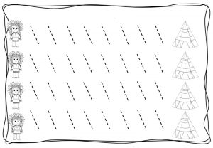 tracing diagonal lines free sheet (9)