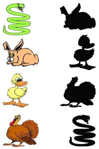 animals shadow matching sheets (2)
