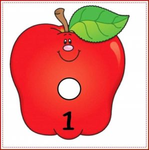 apple number cards (1)