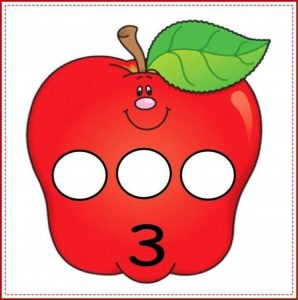 apple number cards (3)