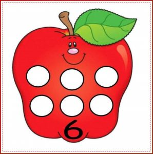 apple number cards (6)