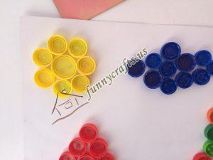 bottle cap crafts for preschool (5)