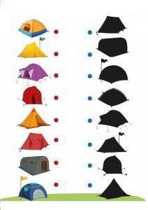 camping shadow matching sheets