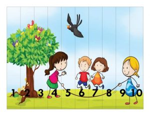 children  number sequence puzzles