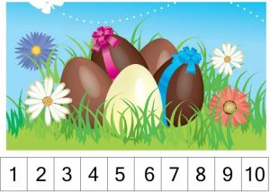 easter  number sequence puzzles