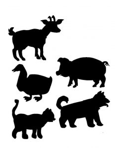 farm animals shadow matching (2)