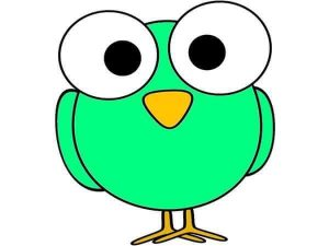 green owl free printable (2)