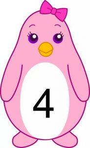 penguin number cards (4)