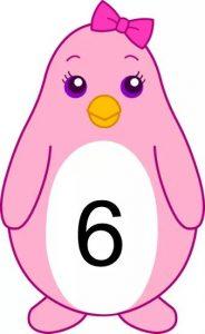 penguin number cards (6)
