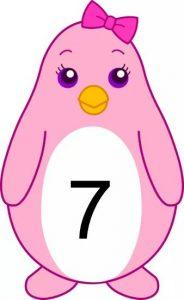 penguin number cards (7)