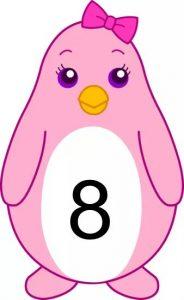 penguin number cards (8)