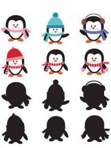 penguin shadow matching sheets