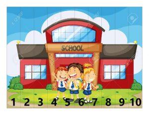 school picture puzzle