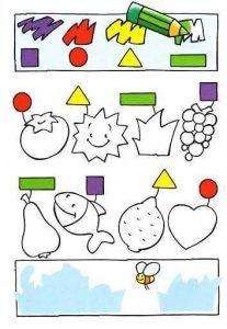 shapes  fun tracing activities