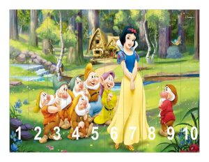 snow white  number sequence puzzles