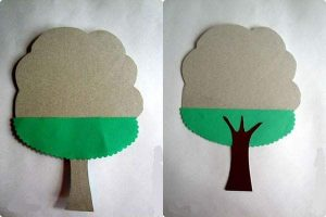 tree craft with paper (3)