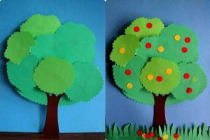 tree craft with paper (4)
