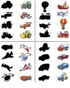 vehicles shadow matching sheet