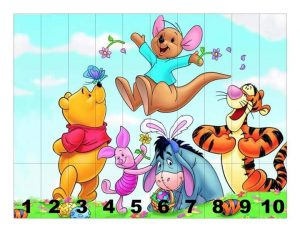 winnie pooh  number sequence puzzles