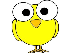 yellow owl free printable
