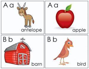 Alphabet flash cards free printable (1)