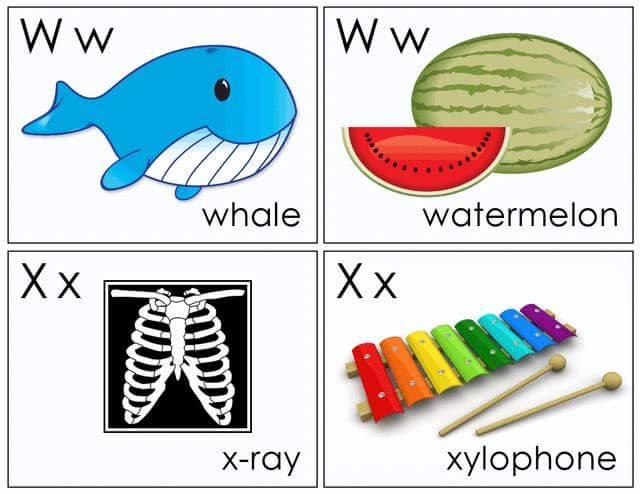 Alphabet Flash Cards Free Printable (12) « Funnycrafts