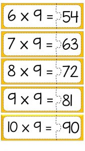 Multiplication puzzle for school (16)