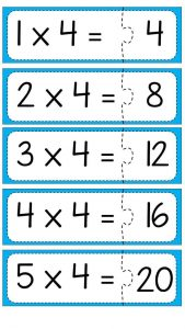 Multiplication puzzle for school (5)