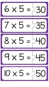 Multiplication puzzle for school (8)